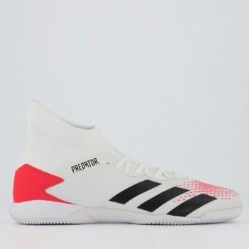 Chuteira Adidas Predator 20.3 IN Futsal Branca