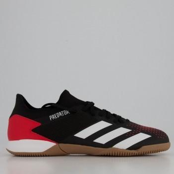 Chuteira Adidas Predator 20.3 Low IN Futsal Vermelha