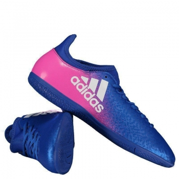 Chuteira Adidas X 16.3 IN Futsal Azul