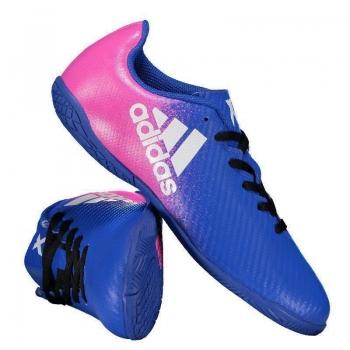 Chuteira Adidas X 16.4 IN Futsal Juvenil Azul