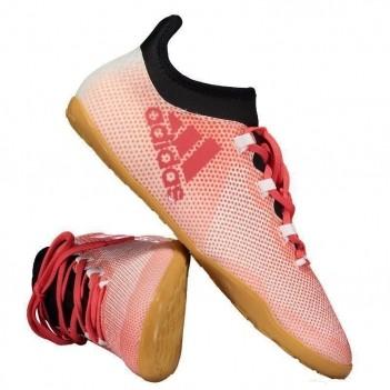 Chuteira Adidas X 17.3 IN Futsal Vermelha