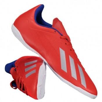 Chuteira Adidas X 18.4 IN Futsal Vermelha