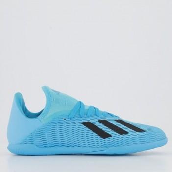 Chuteira Adidas X 19.3 IN Futsal Juvenil Azul