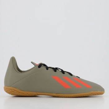 Chuteira Adidas X 19.4 IN Futsal Juvenil Verde