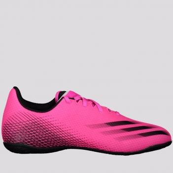 Chuteira Adidas X Ghosted 20.4 IN Futsal Rosa