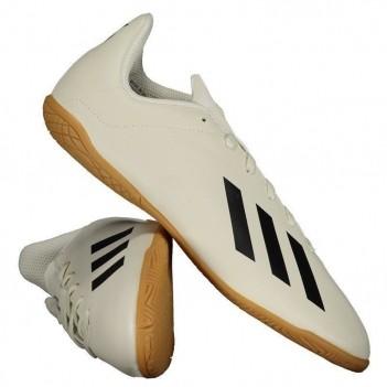 Chuteira Adidas X Tango 18.4 IN Futsal Juvenil Bege