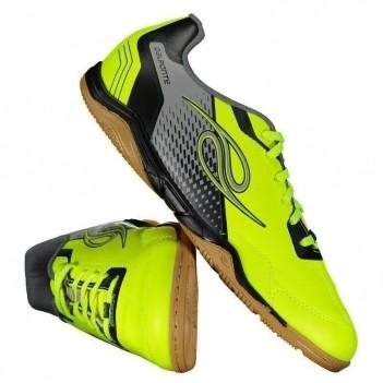 Chuteira Dalponte Class Futsal Amarela