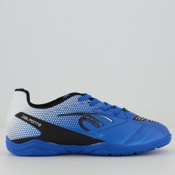 Chuteira Dalponte Twister Futsal Juvenil Azul