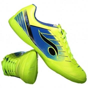 Chuteira Dray 6200 Futsal Verde e Azul
