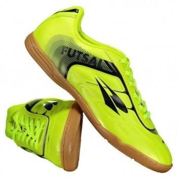 Chuteira Dray Futsal Amarelo Fluorescente