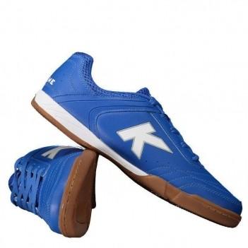 Chuteira Kelme Precision Trn Futsal Azul e Branca