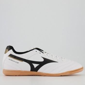 Chuteira Mizuno Morelia Club Futsal Branca