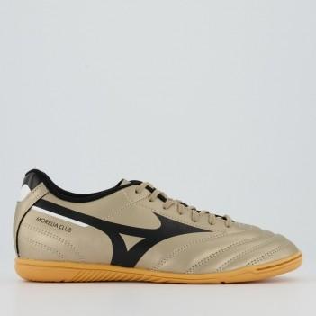 Chuteira Mizuno Morelia Club Futsal Dourada