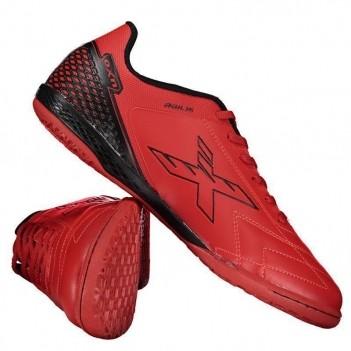 Chuteira Oxn Agilis Futsal Vermelha
