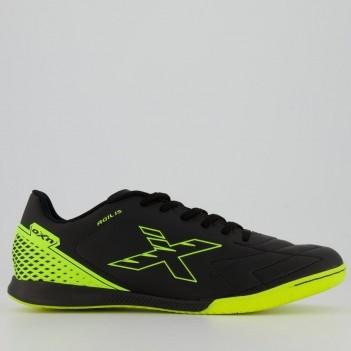 Chuteira Oxn Agilis Pro Futsal Preta