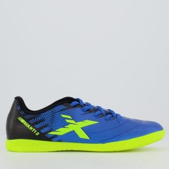 Chuteira Oxn Avanti 2 Futsal Juvenil Azul