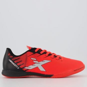 Chuteira Oxn Avanti 2 Futsal Vermelha