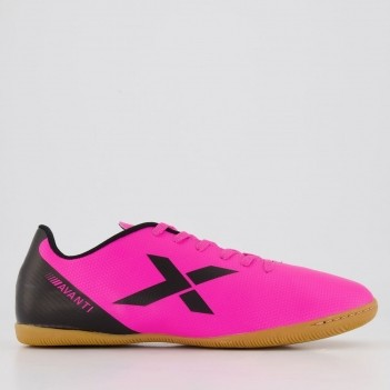 Chuteira Oxn Avanti Futsal Rosa