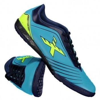 Chuteira Oxn Custom Fit 2 Futsal Azul
