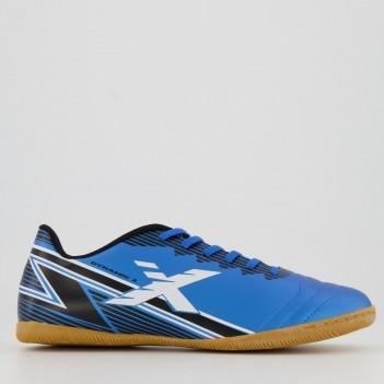 Chuteira Oxn Dynamic 2 Futsal Azul e Preta
