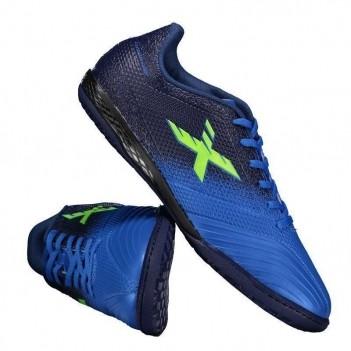 Chuteira Oxn Fusion Grip 2 Futsal Azul
