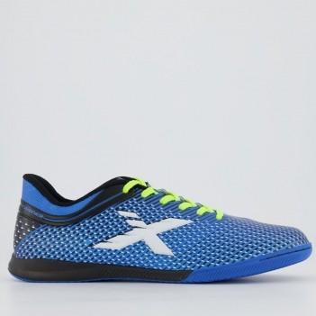Chuteira Oxn Trainer Futsal Azul