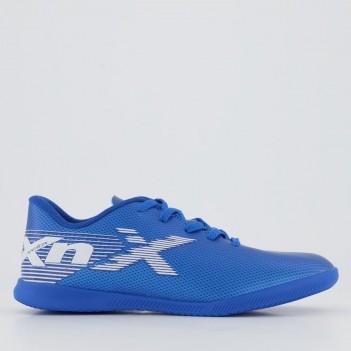 Chuteira Oxn Velox 2 Futsal Juvenil Azul