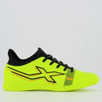Chuteira Oxn Velox 4 Neo Futsal Juvenil Amarela