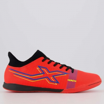 Chuteira Oxn Velox 4 Neo Futsal Laranja