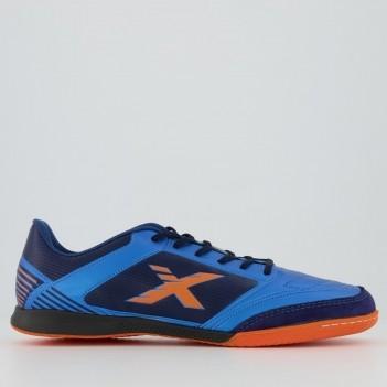 Chuteira Oxn X-Control Futsal Azul