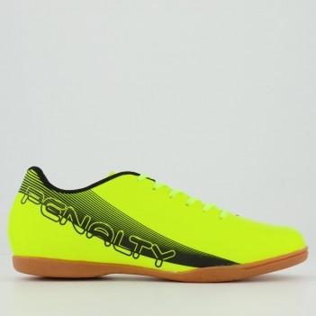 Chuteira Penalty Bravo XX Futsal Amarela e Preta