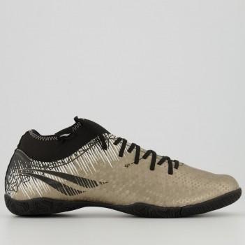 Chuteira Penalty S11 Locker IX Futsal Dourada