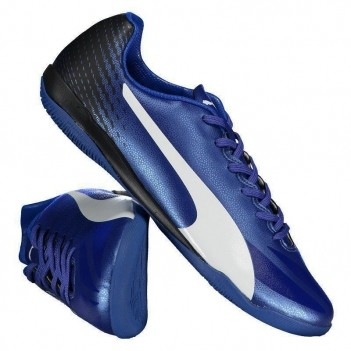Chuteira Puma Evospeed 17.4 IT Futsal Azul