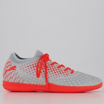 Chuteira Puma Future 4.4 IT BDP Futsal Cinza
