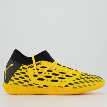 Chuteira Puma Future 5.3 Netfit Ultra Futsal Amarela