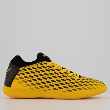 Chuteira Puma Future 5.4 IT BDP Futsal Amarela