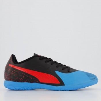 Chuteira Puma One 19.4 IT Futsal Azul