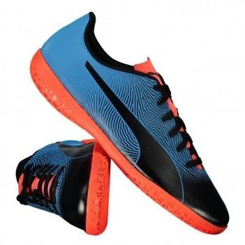 Chuteira Puma Spirit II IT Futsal Azul