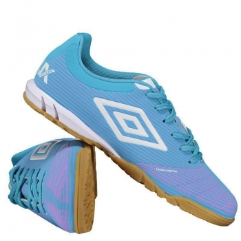 Chuteira Umbro Accuro Club Futsal Azul