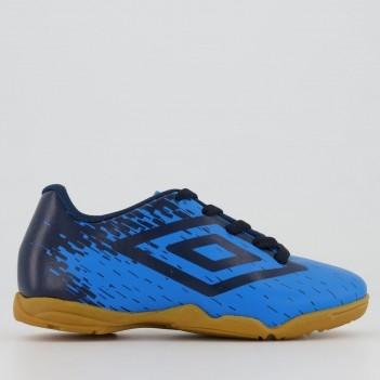 Chuteira Umbro Acid Futsal Juvenil Azul
