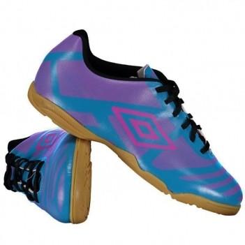 Chuteira Umbro Carbon Futsal Azul