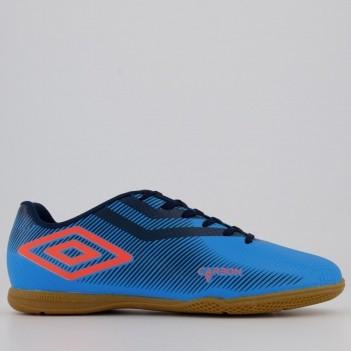 Chuteira Umbro Carbon II Futsal Azul