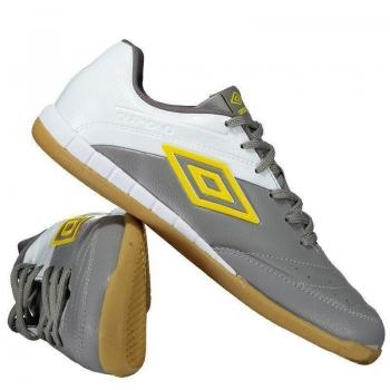 Chuteira Umbro Diamond II Futsal Cinza