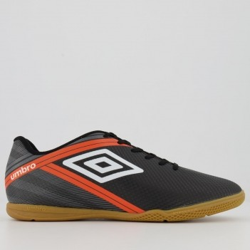 Chuteira Umbro Drako Futsal Preta