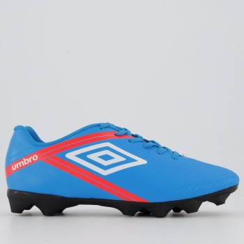 Chuteira Umbro Drako RB Campo Azul