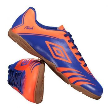 Chuteira Umbro Flash Futsal Azul