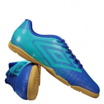 Chuteira Umbro Flux Futsal Azul