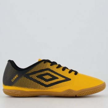 Chuteira Umbro Game Futsal Laranja