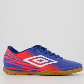 Chuteira Umbro Hit Futsal Azul