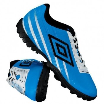 Chuteira Umbro Light Control Society Azul